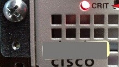 LEDs auf Cisco-Router