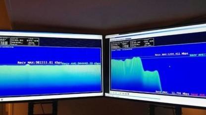 Während des 4,5G-Einsatzes bei Teliasonera