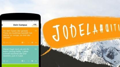 Jodel ist die neue Lieblings-App der Studenten.