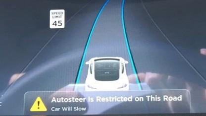 """Der Autopilot 2.0 von Tesla ist noch lange kein """"autonomes Fahren"""""""