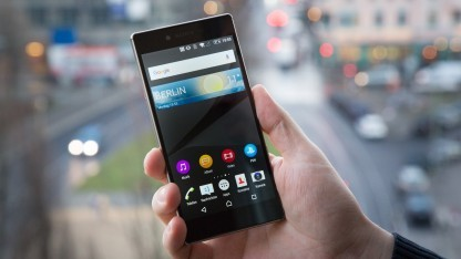 Das Xperia Z5 Premium von Sony