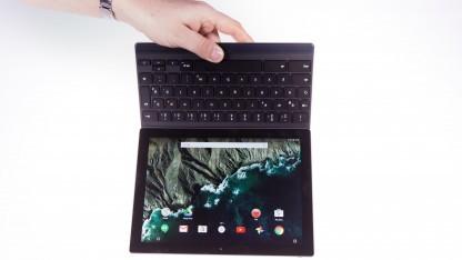 Das Pixel C lässt sich nicht von der Tastatur trennen.