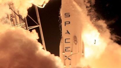 Start der Falcon 9 am 21. Dezember 2015
