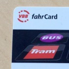 VBB-Fahrcard: Berlins elektronische Fahrkarte speichert Bewegungsprofile