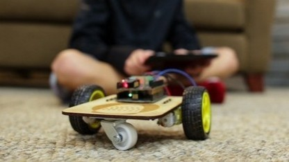 Das erste Projekt von Thimble: ein Roboter