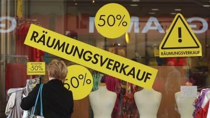 Ladenschließung in Oberhausen
