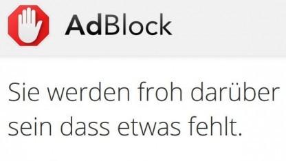 Adblock ist trotz einer einstweiligen Verfügung weiter erhältlich.