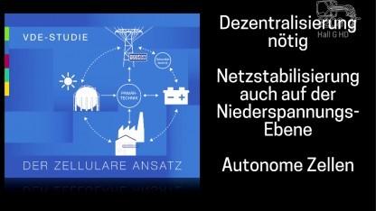 Auf dem 32C3 forderte Mathhias Dalheimer eine größere Dezentralisierung des Stromnetzes.