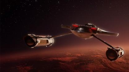 Das Titelraumschiff des unabhängigen Fanfilms Axanar