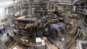 Wendelstein 7-X (im Juni 2015): neun Jahre Bauzeit