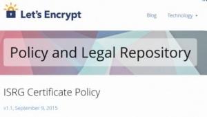 Let's Encrypt hat alle benötigten Dokumente zusammen - und veröffentlicht.