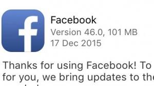 Facebooks iOS-App ist mittlerweile mehr als 100 MByte groß.