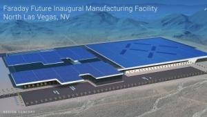 Elektroautofabrik in Las Vegas: Das Elektroauto soll 2020 auf den Markt kommen.