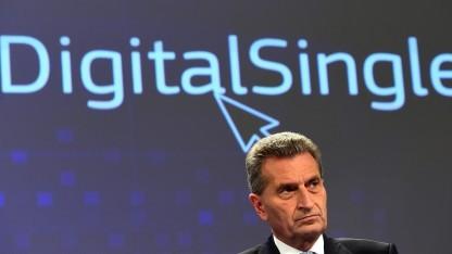 Oettingers großes Ziel: der einheitliche digitale Binnenmarkt