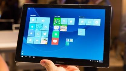 Samsungs Galaxy Tabpro S ist in Deutschland bestellbar.