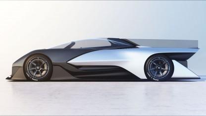 Elektrorenner FF Zero 01: Flair eines futuristischen Rennwagens