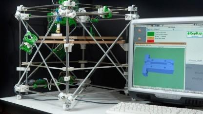 Reprap Darwin, der allererste Reprap-3D-Drucker