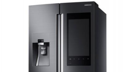 Auf der Samsung Family Hub Fridge ist Tizen installiert.