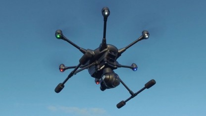 Hexacopter Typhoon H: Die Drohne beachtet Flugverbotszonen.