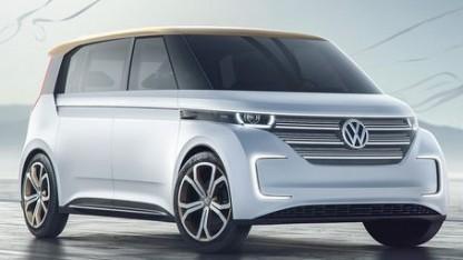 VW Budd-E auf der CES