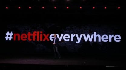 Netflix-Chef Reed Hastings auf der CES 2016