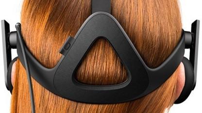 Oculus Rift im Einsatz