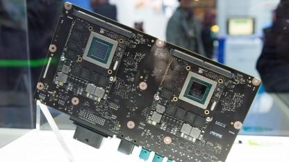 Nvidias Modul für autonome Autos - das Drive PX 2