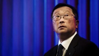 Blackberry-Chef John Chen konzentriert sich erst einmal auf Android.