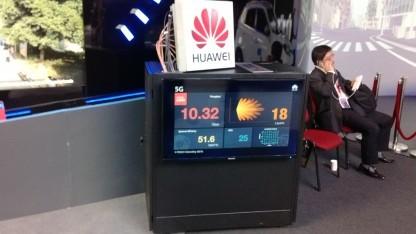 5G-Tests von Huawei in Hongkong