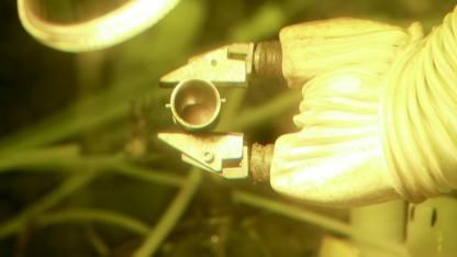 Die erste Probe Pu-238
