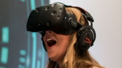 HTC Vive Pre auf der CES 2016