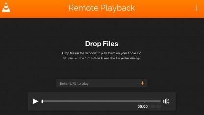 Der VLC-Player steht für das aktuelle Apple TV bereit.
