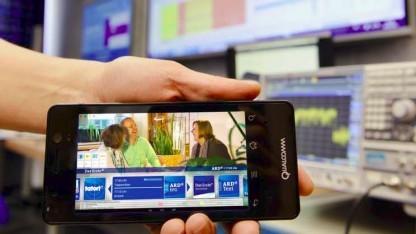 TV-Sendung im LTE-Broadcast-Modus eMBMS mit HbbTV-Demostudie