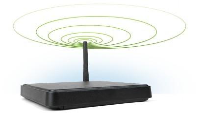 Ein Router auf der Unitymedia-Webseite. Kunden sollen das Passwort ändern.
