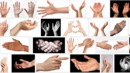 """Bei der Suche nach dem Begriff """"Hands"""" findet Google vor allem eines: weiße Hände."""