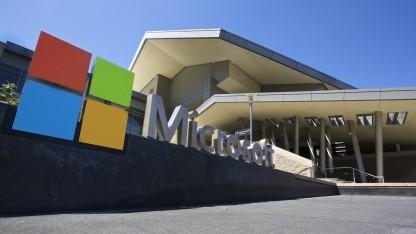 Microsoft-Zentrale in Redmond, Washington