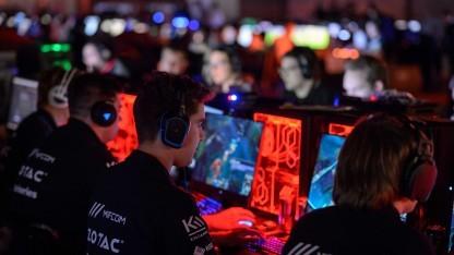 Rund 1.000 Teilnehmer spielten auf Deutschlands größter LAN-Party.