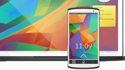 Zusätzlich zum Desktop arbeitet KDE auch an einer Mobile-Oberfläche.