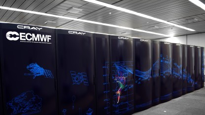Crays-Systeme in der High Performance Computing Facility