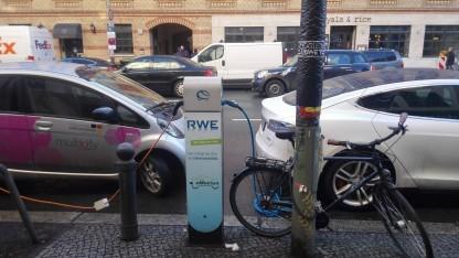 Stromtankstelle in Berlin