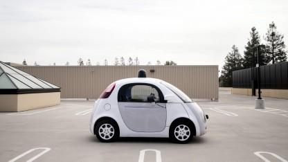 Google will seine Autos auch ohne Fahrer losschicken dürfen.