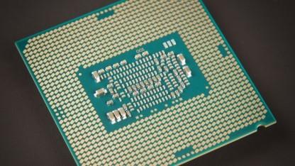 Unterseite einer Sockel-1151-CPU