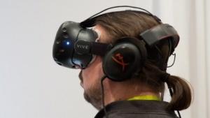 Das neue HTC Vive Pre in Aktion