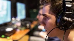Ein Spieler während der letztjährigen WM in Call of Duty