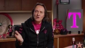 T-Mobile-Chef John Legere in seiner Videobotschaft