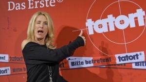 Maria Furtwängler bei einer Tatort-Premiere