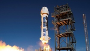Start des Raumschiffs New Shepard im November 2015 (Bild: Blue Origin), Blue Origin