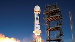 Start des Raumschiffs New Shepard im November 2015 (Bild: Blue Origin), Blue Origin