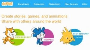 Kinder sollen mit Scratch spielerisch programmieren lernen.
