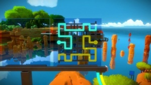 Screenshot aus The Witness